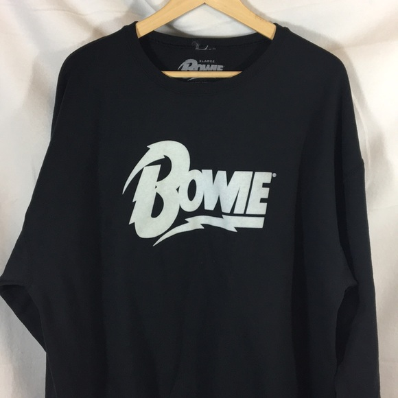 a229799f0 unbranded Shirts | David Bowie Sweatshirt Brooklyn Museum Black Xl ...